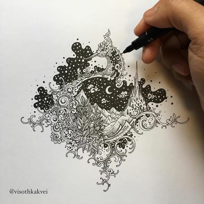 Морской конёк. Автор: Visoth Kakvei.