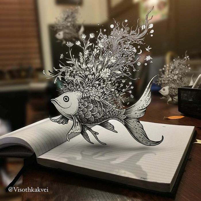 Рыбка. Автор: Visoth Kakvei.