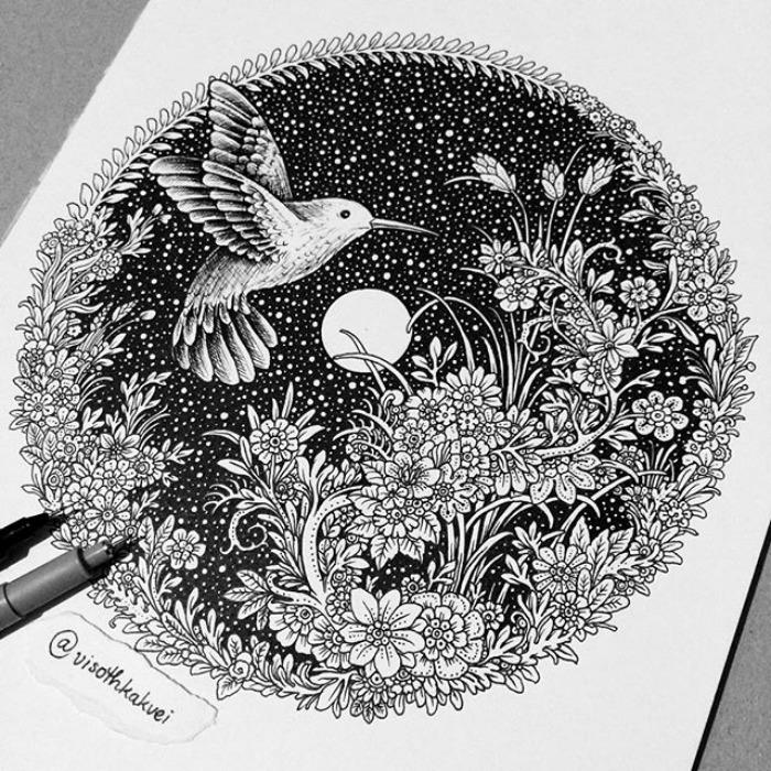 Колибри. Автор: Visoth Kakvei.