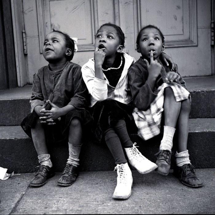 Гарлем, 1940-е годы. Автор: Vivian Cherry.