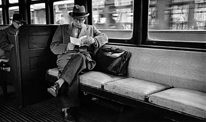 Поезд. Автор: Vivian Cherry.