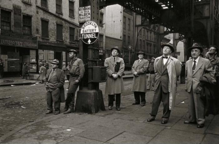 Третья авеню Эль, 1955 год. Автор: Vivian Cherry.