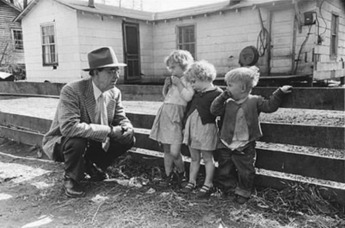 Западная Вирджиния, 1940-е годы. Автор: Vivian Cherry.