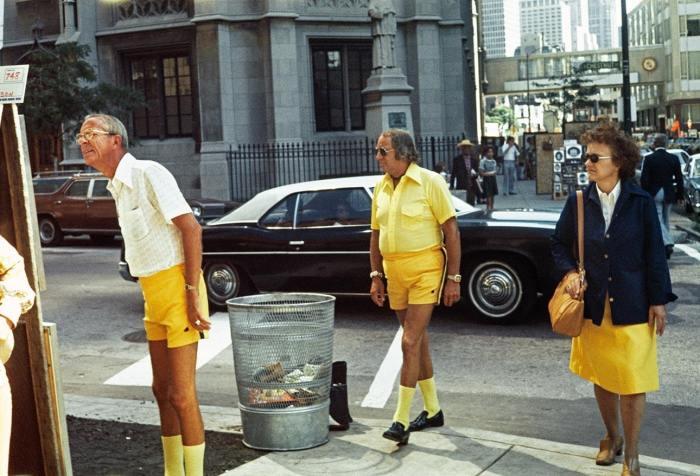 Жёлтый бум, Чикаго, 1975 год. Автор: Vivian Maier.