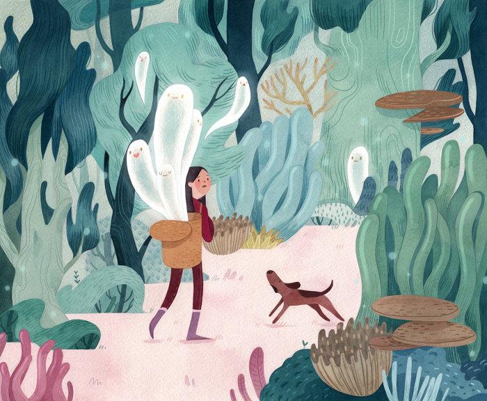 Коралловый лес.  Автор: Vivian Mineker.