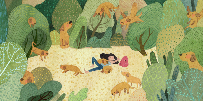 Любимый лес. Автор: Vivian Mineker.