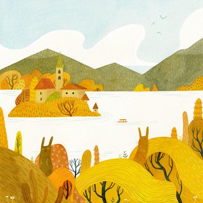 Осень. Автор: Vivian Mineker.