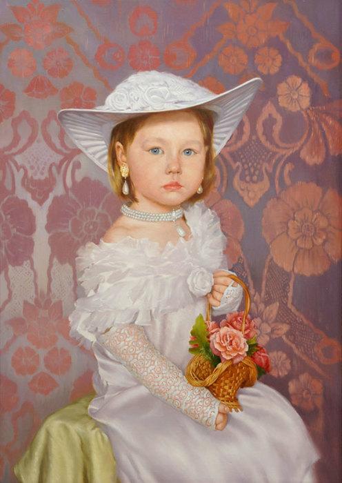 Маленькая леди. Автор: Владимир Александров.