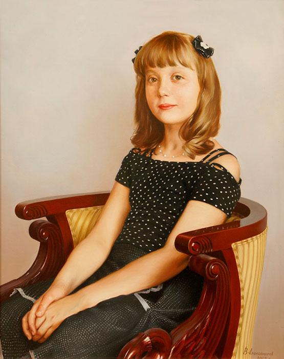 Юная красавица. Автор: Владимир Александров.