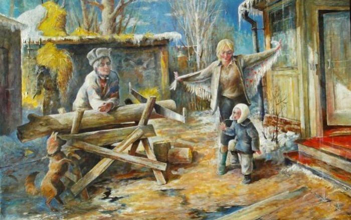 Обыкновенное счастье. Автор: Владимир Березин.