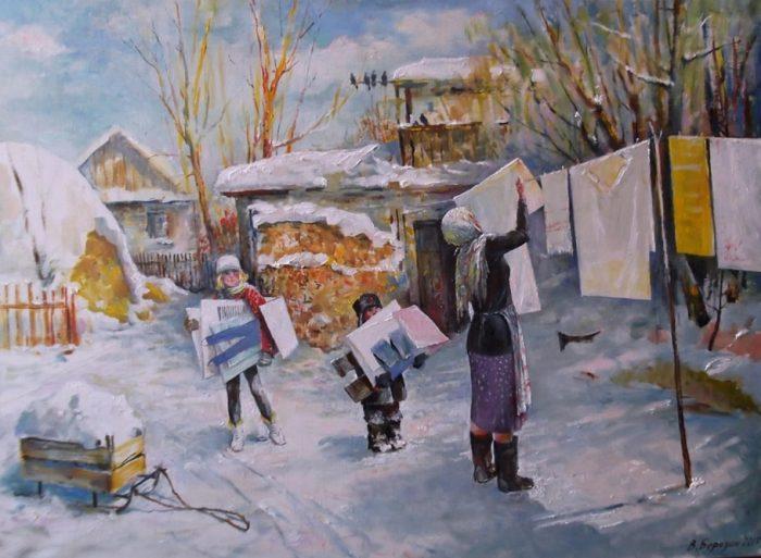 Чистый день – Помощники. Автор: Владимир Березин.