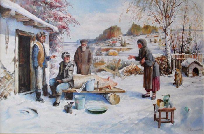Первые морозы. Автор: Владимир Березин.
