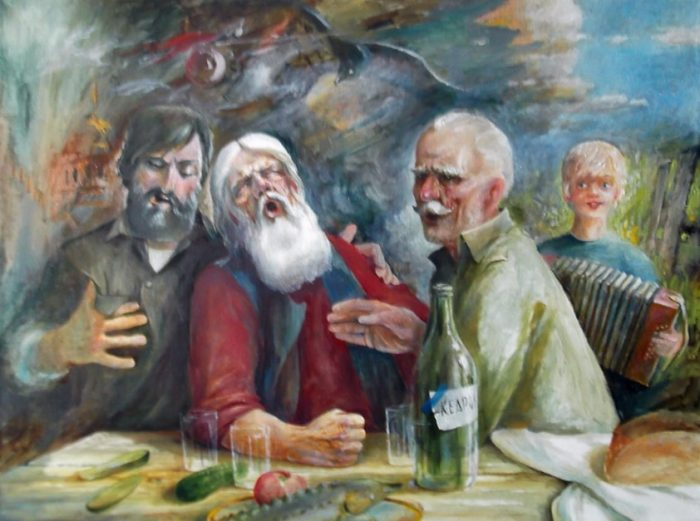 Песня предков. Автор: Владимир Березин.
