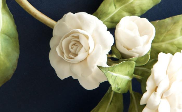 Белые розы. Автор: Владимир Каневский.