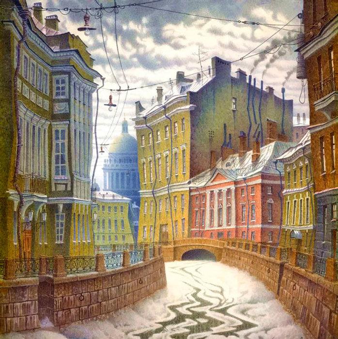Мойка. Автор: Владимир Колбасов.