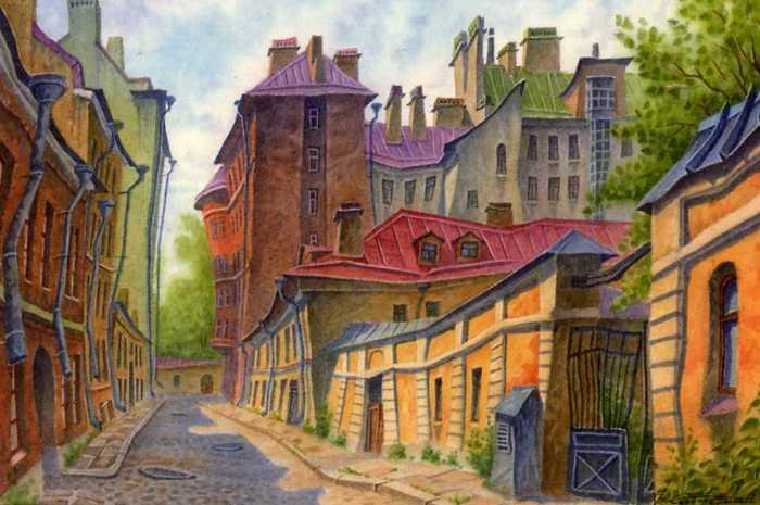 Солнечный Переулок. Автор: Владимир Колбасов.