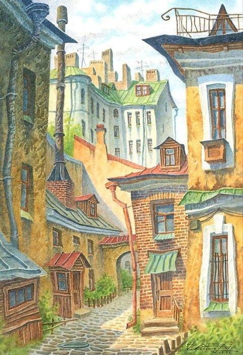 Кочегарка. Автор: Владимир Колбасов.