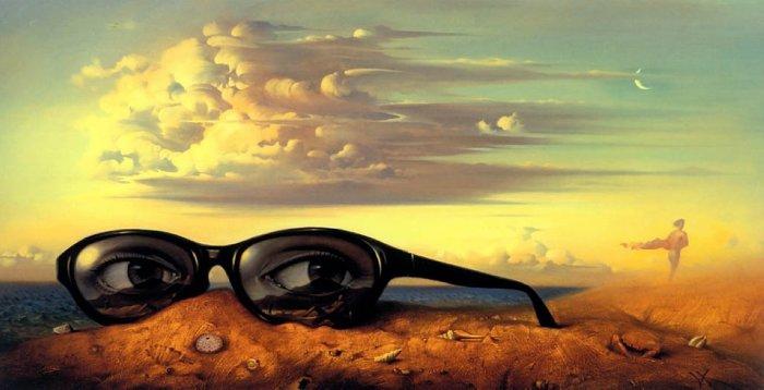 Забытые солнцезащитные очки. Автор: Владимир Куш.