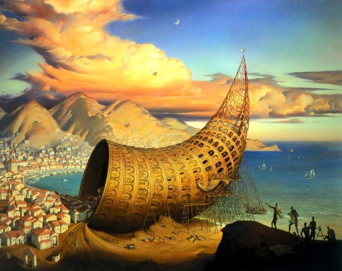 Вавилонский рог. Автор: Владимир Куш.