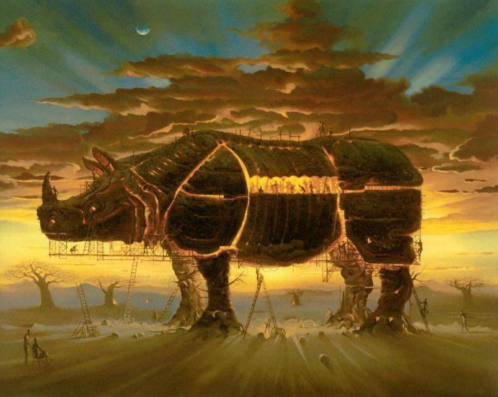 Троянский конь. Автор: Владимир Куш.