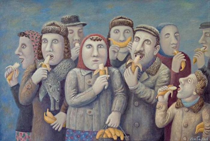 Картины Владимира Любарова (Vladimir Lyubarov).