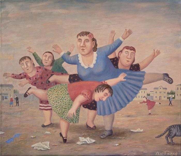 Флешмоб «Ласточка». Автор работ: Владимир Любаров (Vladimir Lyubarov).