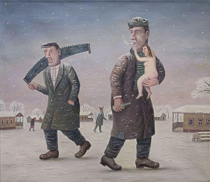 Автор работ: Владимир Любаров (Vladimir Lyubarov).