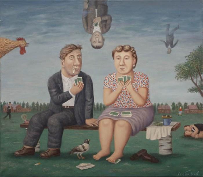 Лёше пора жениться. Автор работ: Владимир Любаров (Vladimir Lyubarov).