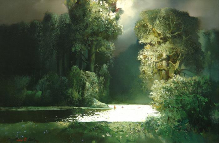 Купание перед грозой. Автор: Владимир Солдтакин.