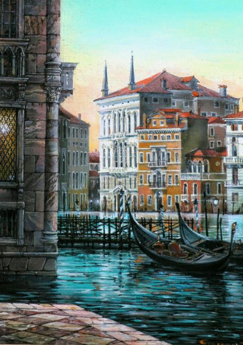 Палаццо Фоскари, Венеция. Автор: Владимир Струзер.