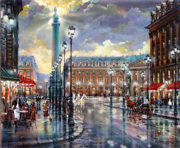 Париж. Автор: Владимир Струзер.