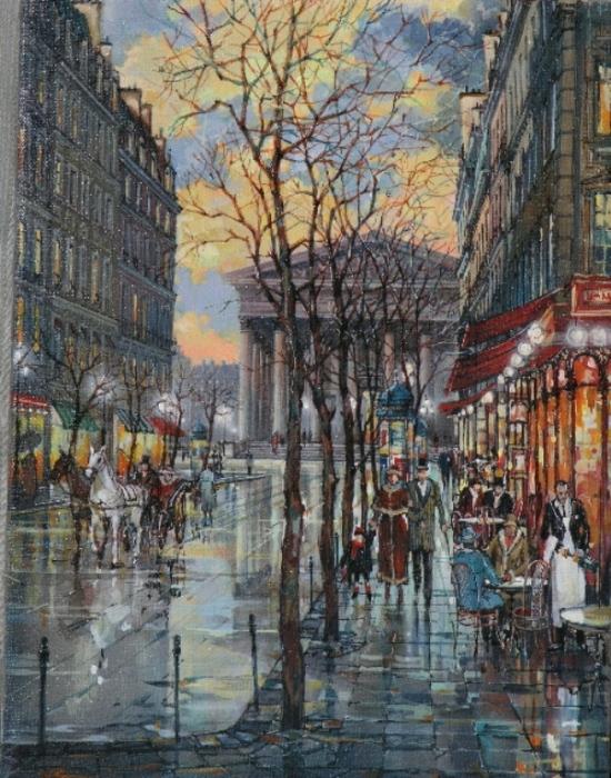 Площадь Плас-де-ла-Мадлен. Автор: Владимир Струзер.