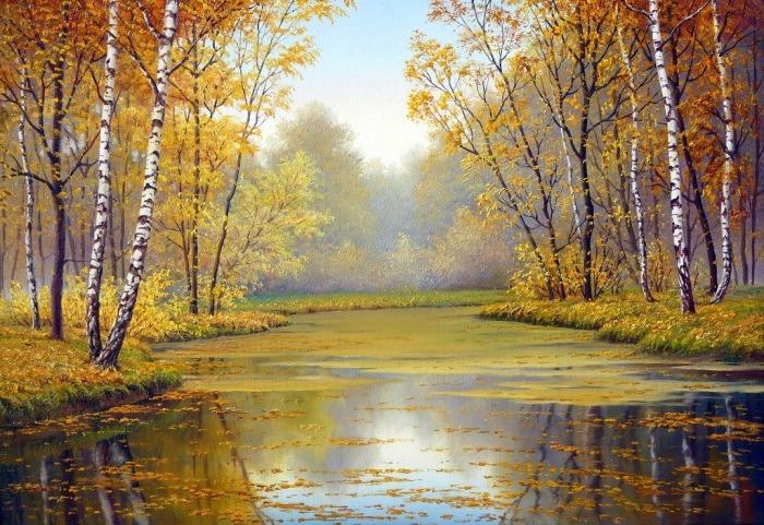 Осень. Автор: Владимир Княгницкий.