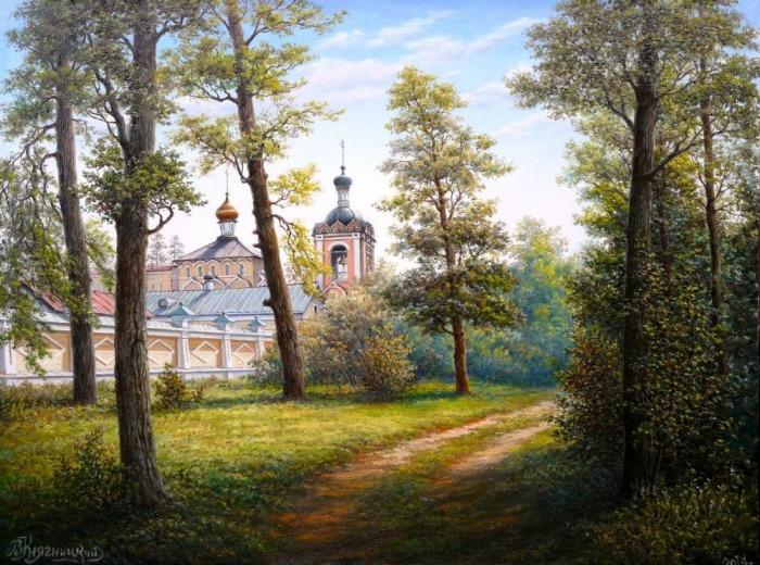 Оптина Пустынь 2. Автор: Владимир Княгницкий.