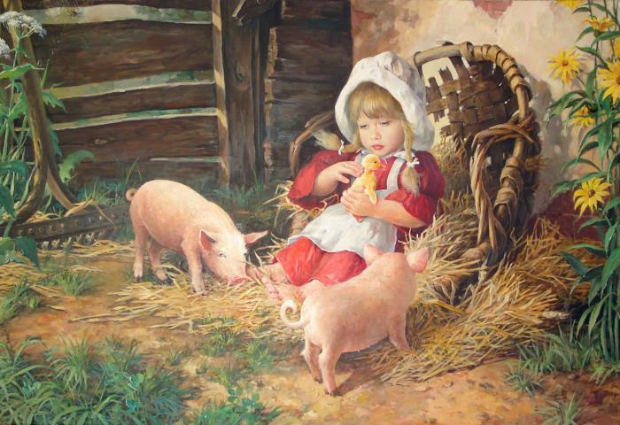 Потрясающие картины художника Владислава Николаевича Леоновича.