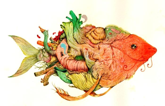Морское сердце. Автор: Vorja Sanchez.