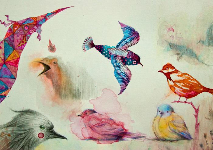 Полёт. Автор: Vorja Sanchez.