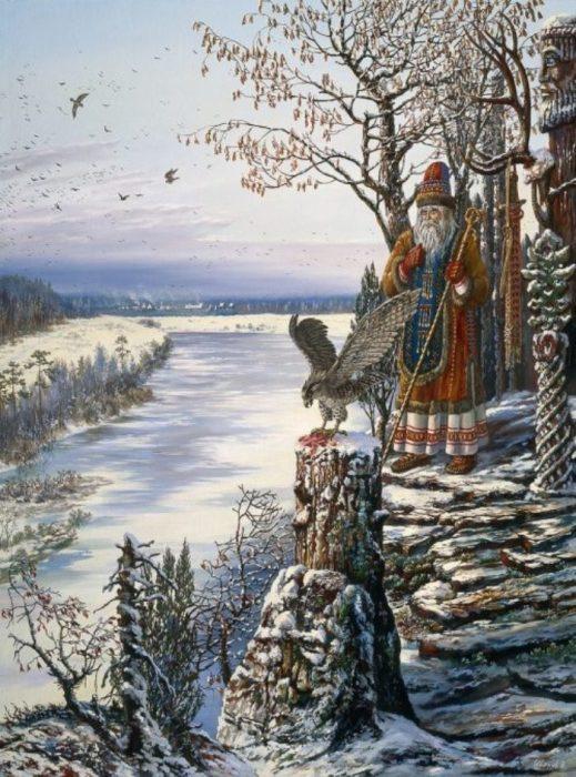 Храм у соколиного бога. Автор: Всеволод Иванов.