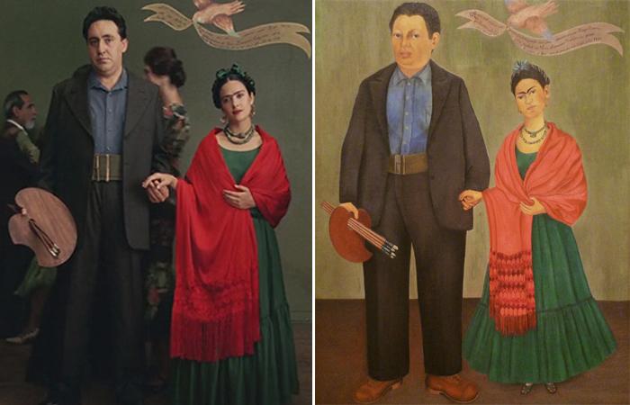 Сцены из кинофильмов, вдохновлённые картинами великих художников. Автор: Vugar Efendi.