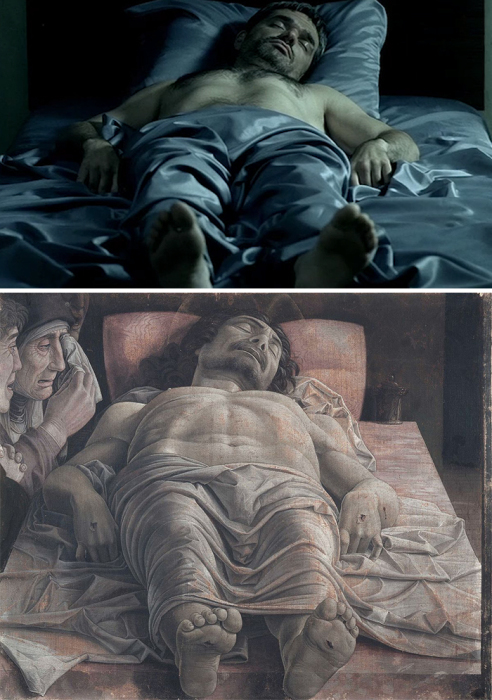 «Возвращение», 2003 год и Оплакивание Христа Сандро Боттичелли.