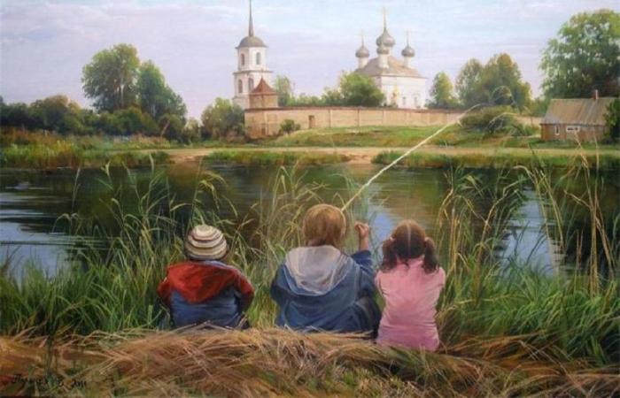Друзья. Автор: Вячеслав Палачёв.
