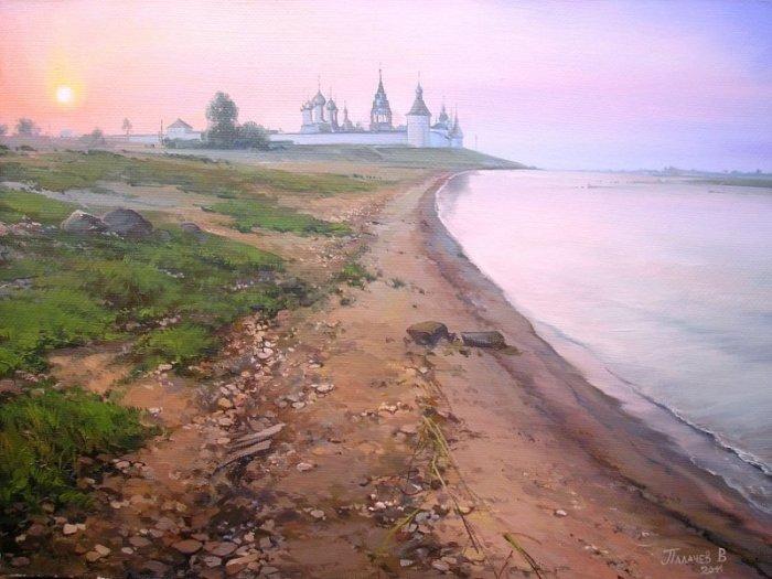 Заутренняя. Автор: Вячеслав Палачёв.