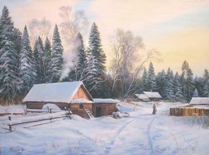 Зима. Автор: Вячеслав Палачёв.
