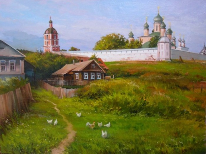 Переславль. Автор: Вячеслав Палачёв.