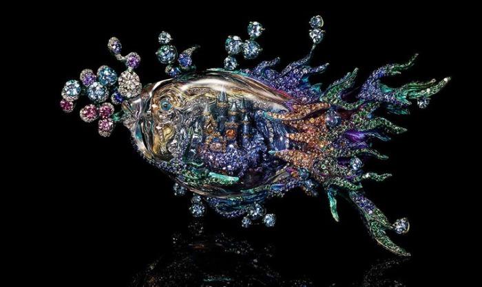 Подводное царство. Автор: Wallace Chan.