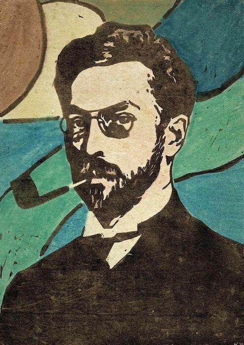 Портрет Василия Кандинского, Габриеле Мюнтер, 1906 год. \ Фото: wordpress.com.