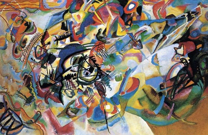 Композиция VII, Василий Кандинский, 1913 год. \ Фото: instumentalst.com.