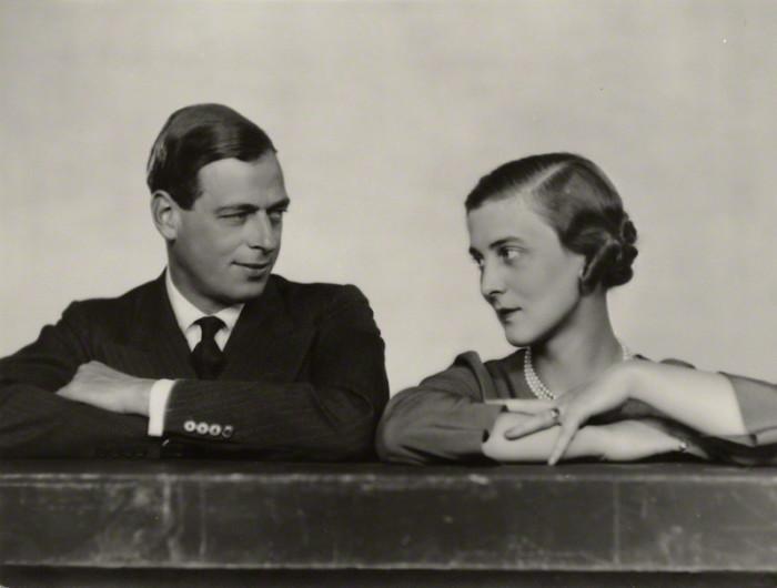 Принц Георг, герцог Кентский и принцесса Марина, герцогиня Кентская Дороти Уайлдинг, октябрь 1934 года, Национальная портретная галерея. \ Фото: blog.hrp.org.uk.
