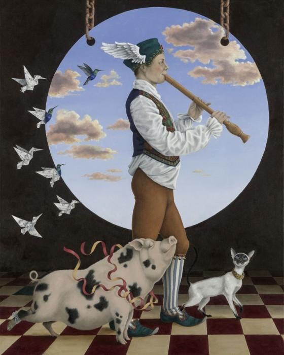 Любители музыки. Автор: Wendy Mould.