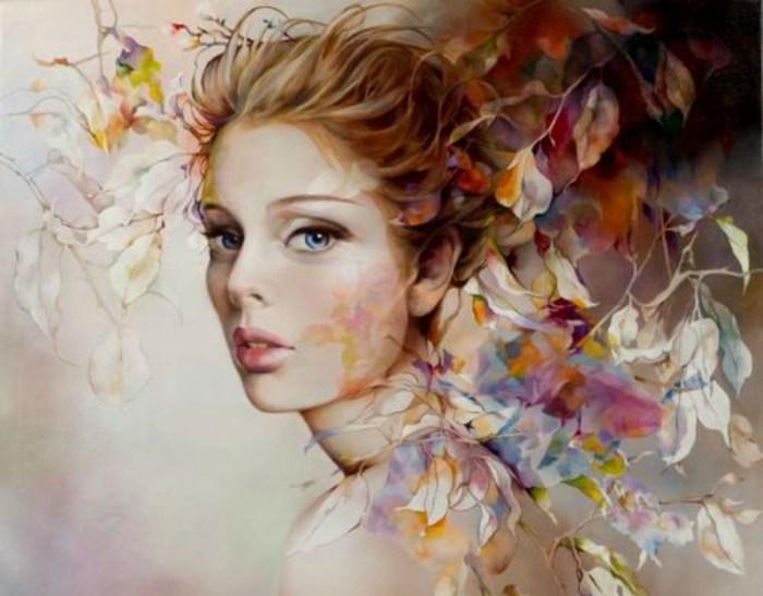 Красота и женственность. Автор: Венди Энджи (Wendy Ng).